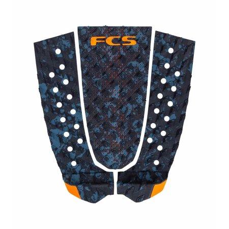 FCS FCS T-3 Tailpad Blue Fleck/Orange