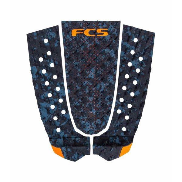 FCS T-3 Tailpad Blue Fleck/Orange