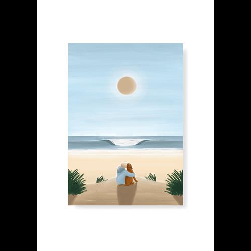 StudioTrev Postcard A Child's Best Friend By Trevor Humphres