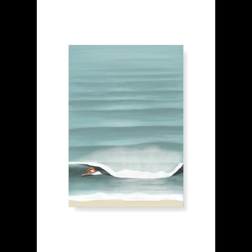StudioTrev Postcard Endless Lines By Trevor Humphres