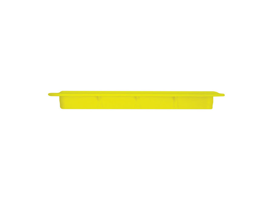 "FUTURES FINS 1/2"" Yellow Ilt Fin Box"
