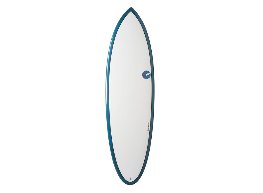 NSP 5'6 Elements Hybrid Shortboard Blue