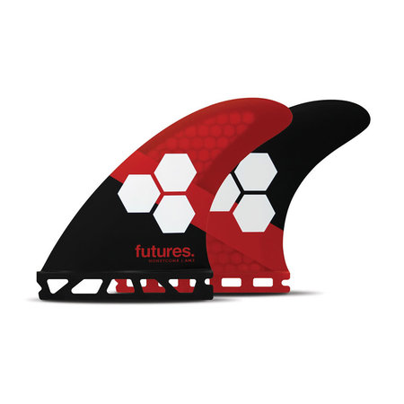 Futures Fins FUTURES FINS Am3 Honeycomb Size Small Red Black