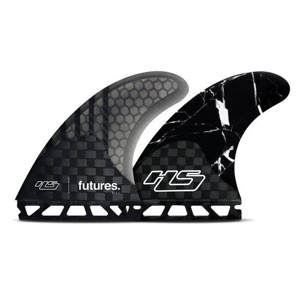 FUTURES FINS Hs1 Generation Hayden Shapes Size Large Black
