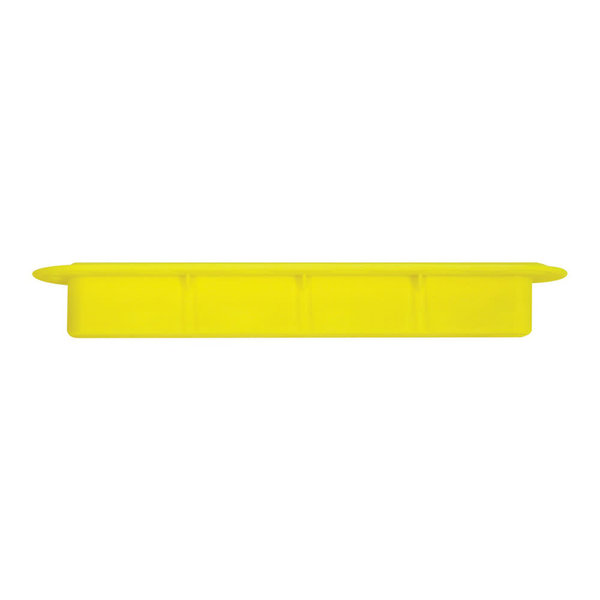 "FUTURES FINS 3/4"" Yellow Ilt Fin Box"