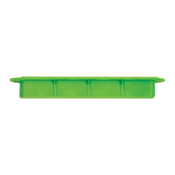 "FUTURES FINS 3/4"" Green Ilt Fin Box"