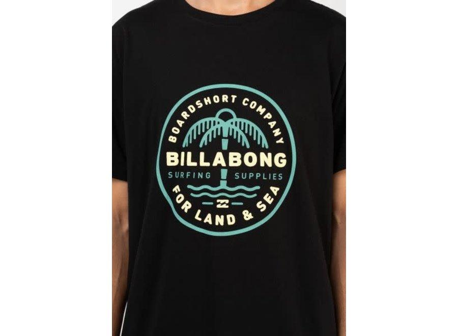 Billabong Heren Coast To Coast Short Sleeve Shirt