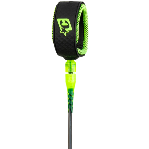 Creatures of Leisure Creatures 6ft Reliance Pro Leash Black Lime