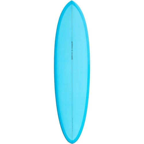 Channel Islands Surfboards Channel Islands CI Mid Blue Surfboard 6'6""