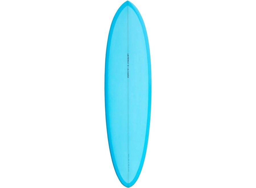 """Channel Islands CI Mid Blue Surfboard 6'6"""""""