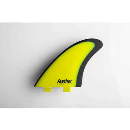 Feather Fins Feather Fins FCS Modern Keel Yellow/Black
