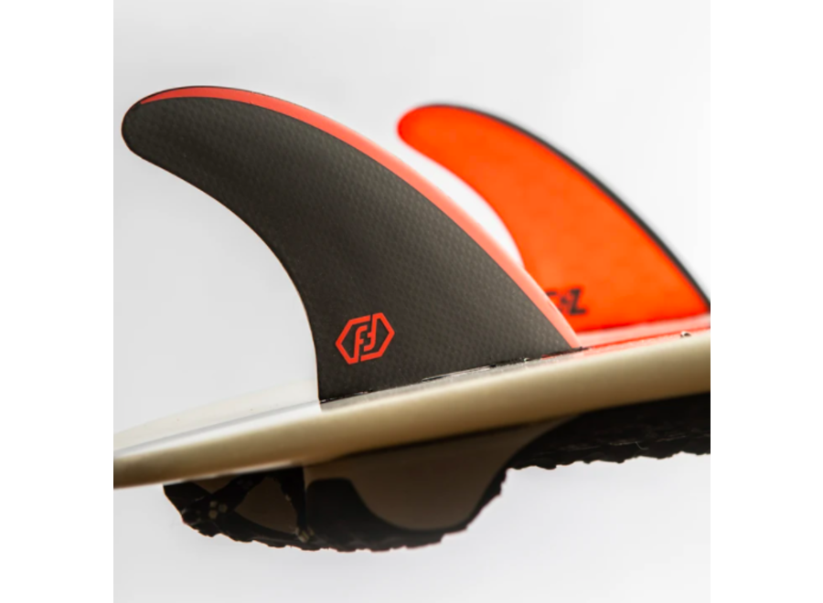 Feather Fins Single Tab Signatures Gony Zubizarreta Thruster Fins Red