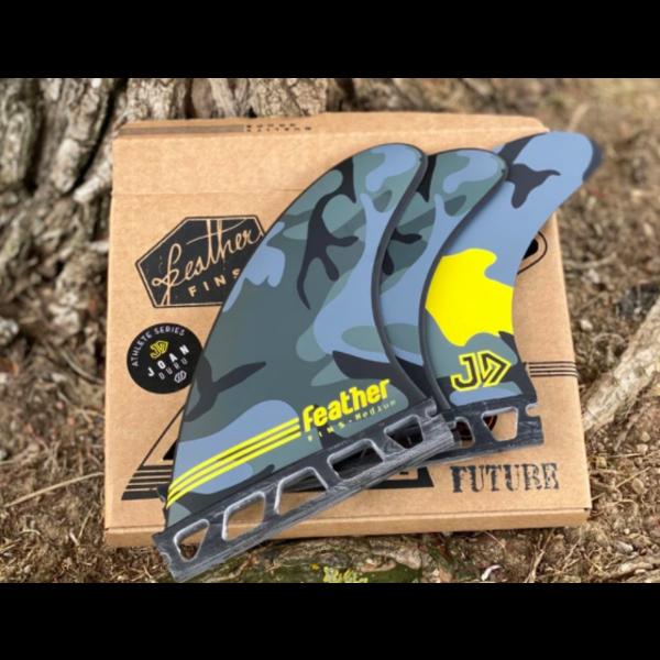 Feather Fins Futures Signatures Joan Duru HC Thruster Fins