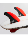 Feather Fins Futures Signatures Jonathan Gonzalez Thruster Fins Red