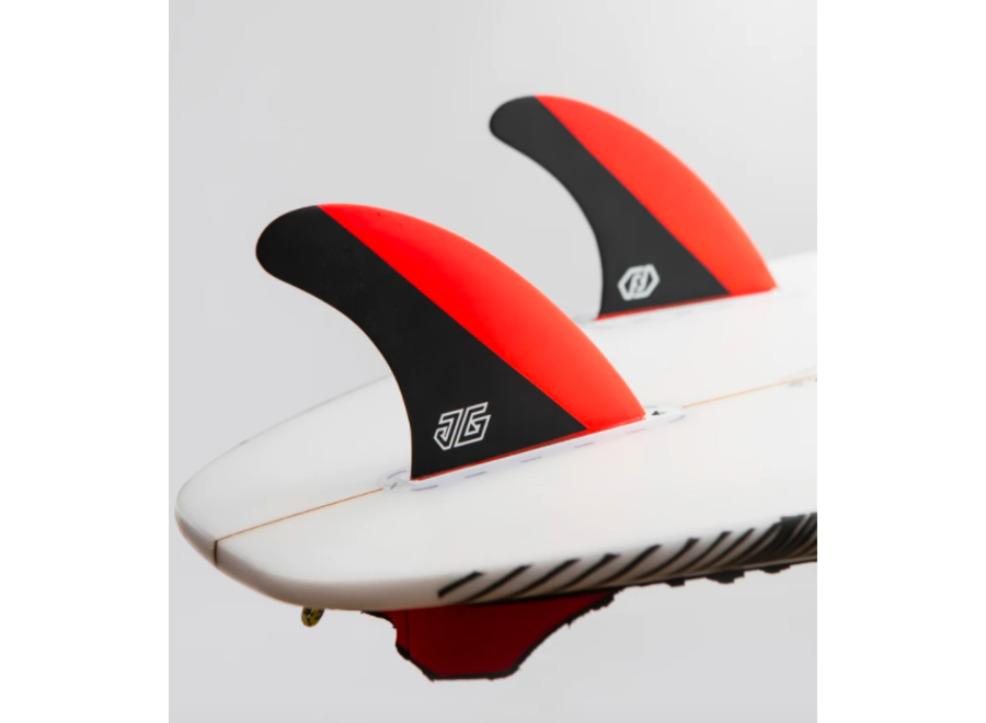 Feather Fins Single Tab Signatures Jonathan Gonzalez Thruster Fins Red