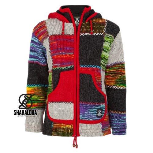 Shakaloha Shakaloha Patch Zip Hoodie Multi