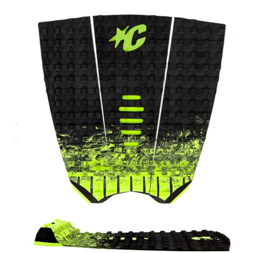Creatures of Leisure Creatures of Leisure Tailpad Mick Fanning Black Fade Lime