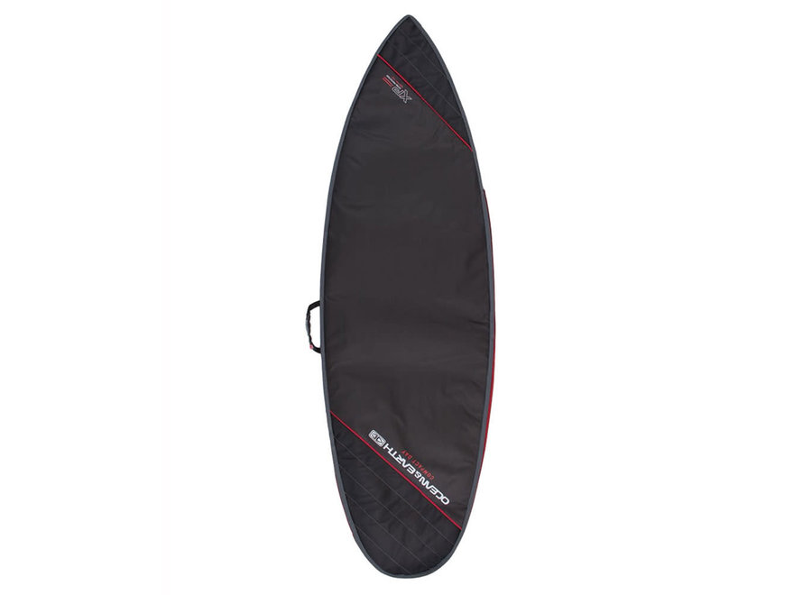 OCEAN & EARTH Compact Day Shortboard Cover Black
