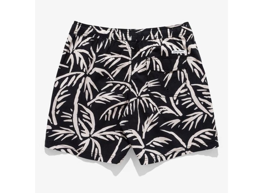 Banks Journal Heren Grove Boardshorts Dirty Black