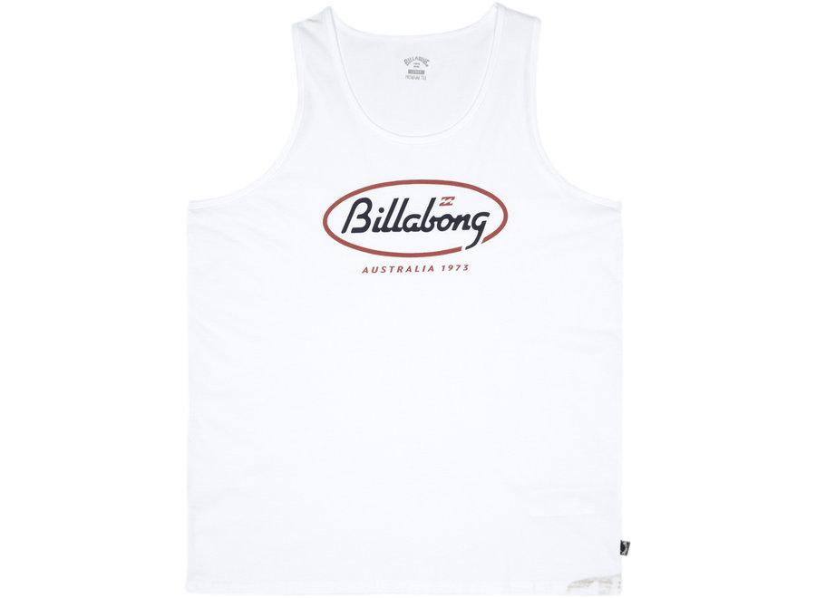 Billabong Heren State Beach Tank White