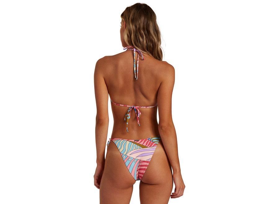 Billabong Dames Surfadelic Hike Bikini Bottom Multi