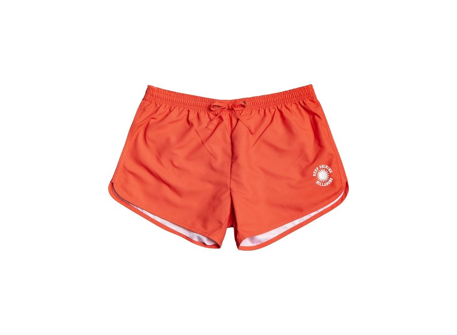 Billabong Dames Good Time Boardshorts Hot Coral