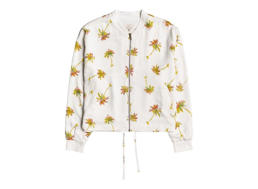 Billabong Dames Summer Bomber Jacket Salt Crystal