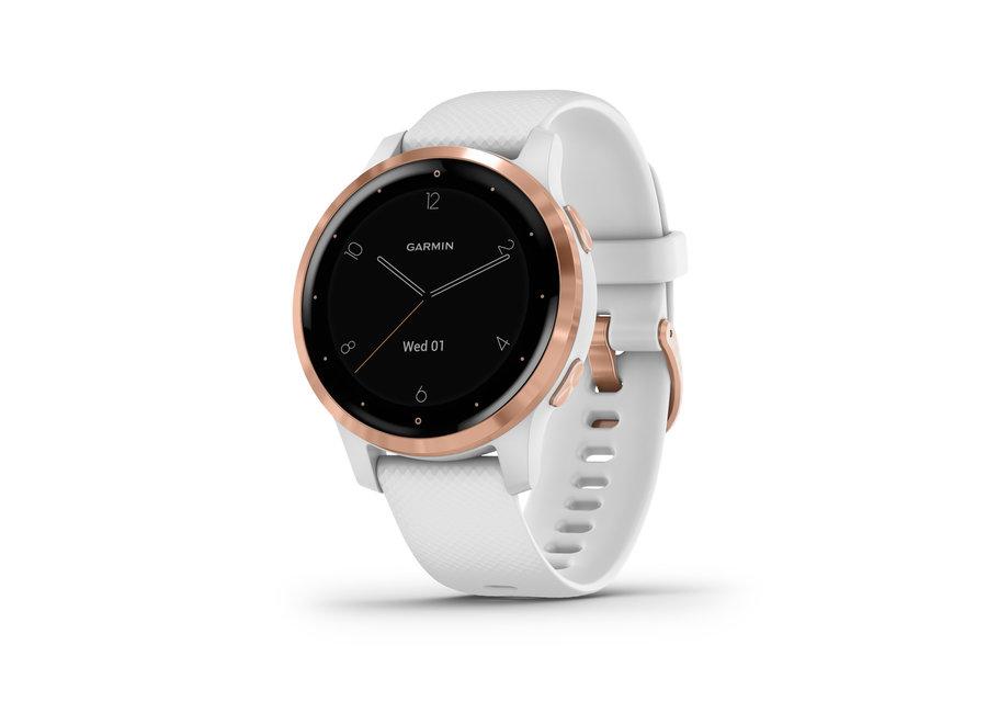 Garmin Vivoactive 4S White/Rose Gold Smartwatch