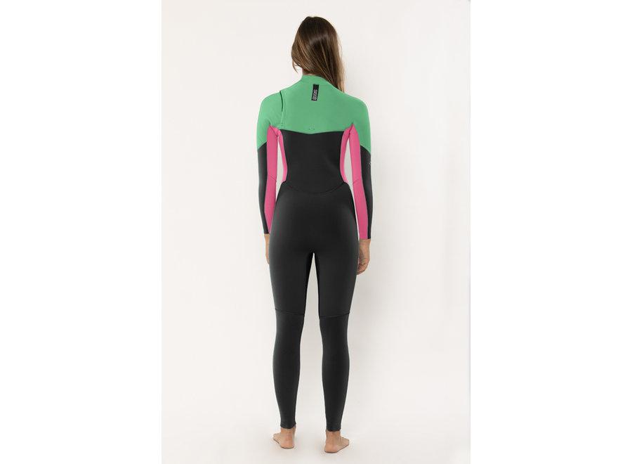 Sisstrevolution 7 Seas 4/3 Women's Wetsuit Camp Green
