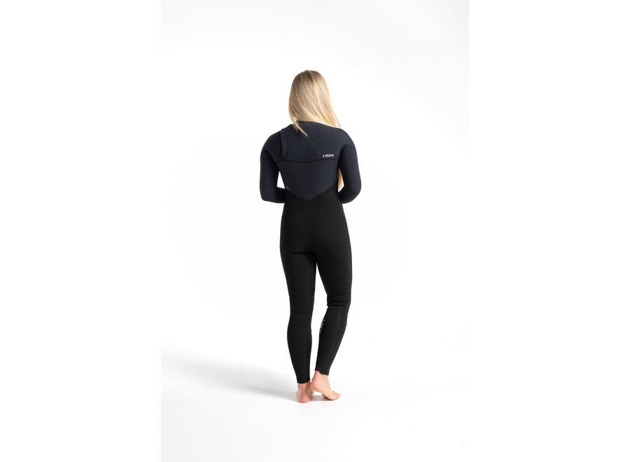 C-Skins ReWired 4/3 Dames Wetsuit Black/XWhite