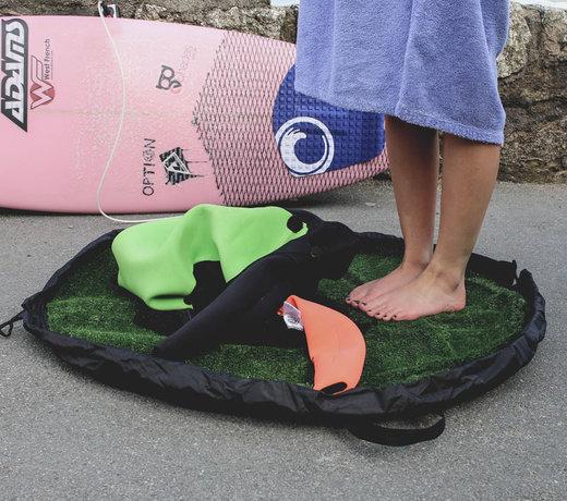 Wetsuit change mats