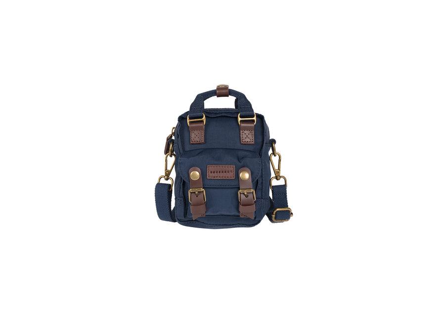 Doughnut Macaroon Tiny Backpack Navy