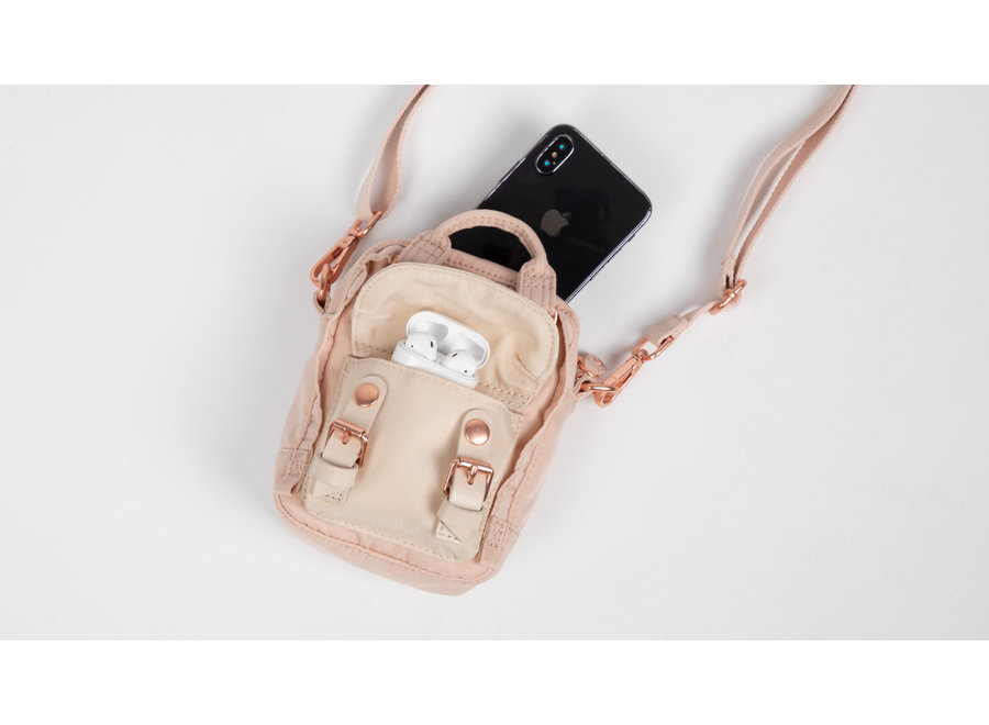 Doughnut Macaroon Tiny Nature Pale Crossbody Bag Soft Sunrise x Hazy