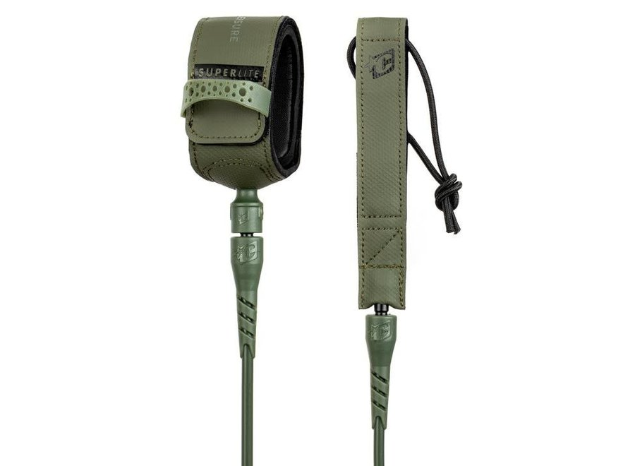 Creatures 6ft Superlite Comp Leash Military