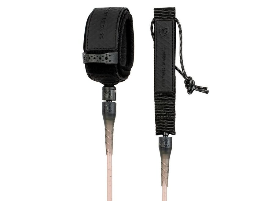 Creatures 6ft Comp Leash Dirty Pink Speckle Black