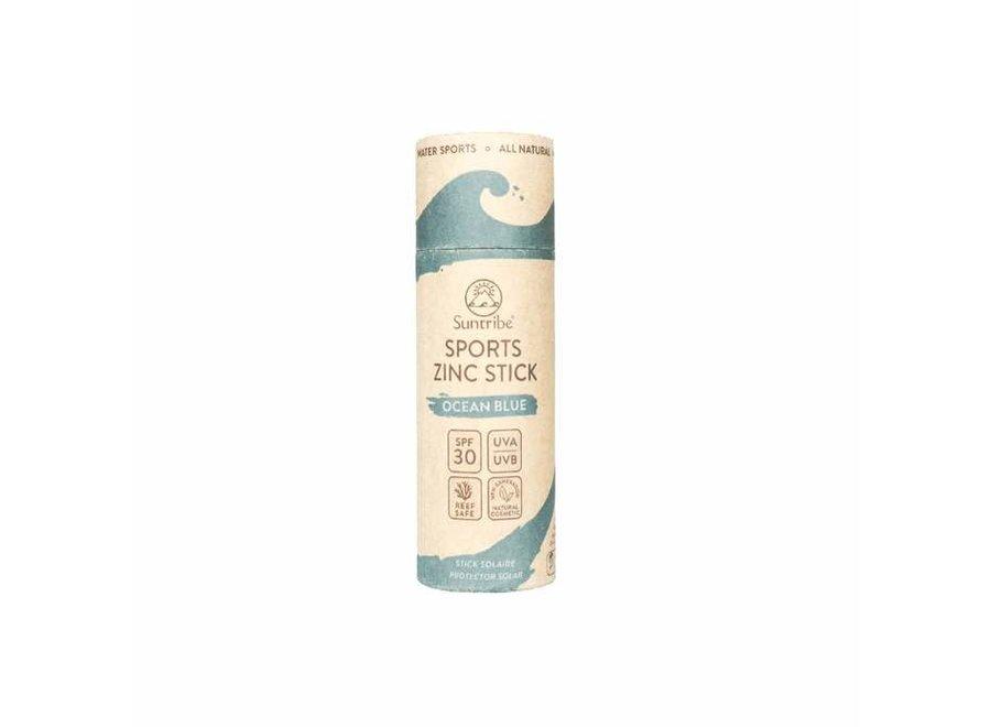 Suntribe SPF 30 Sports Zinc Stick Ocean Blue