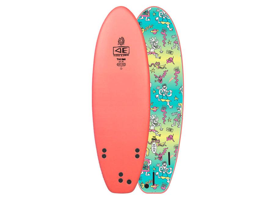 OCEAN & EARTH 5'6 Freaks Bug Softboard 3 Fins