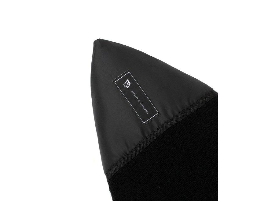 Creatures Icon Shortboard Boardsock Black