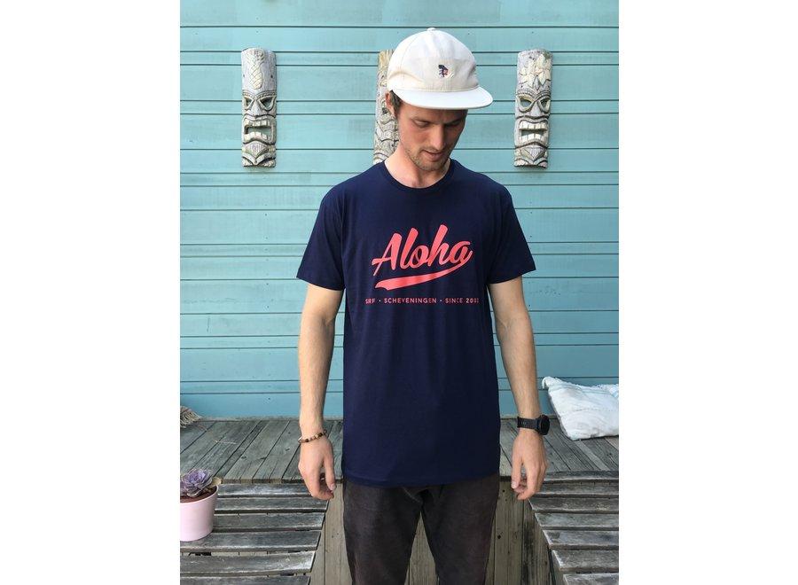 Aloha Crew T-Shirt Dark Blue