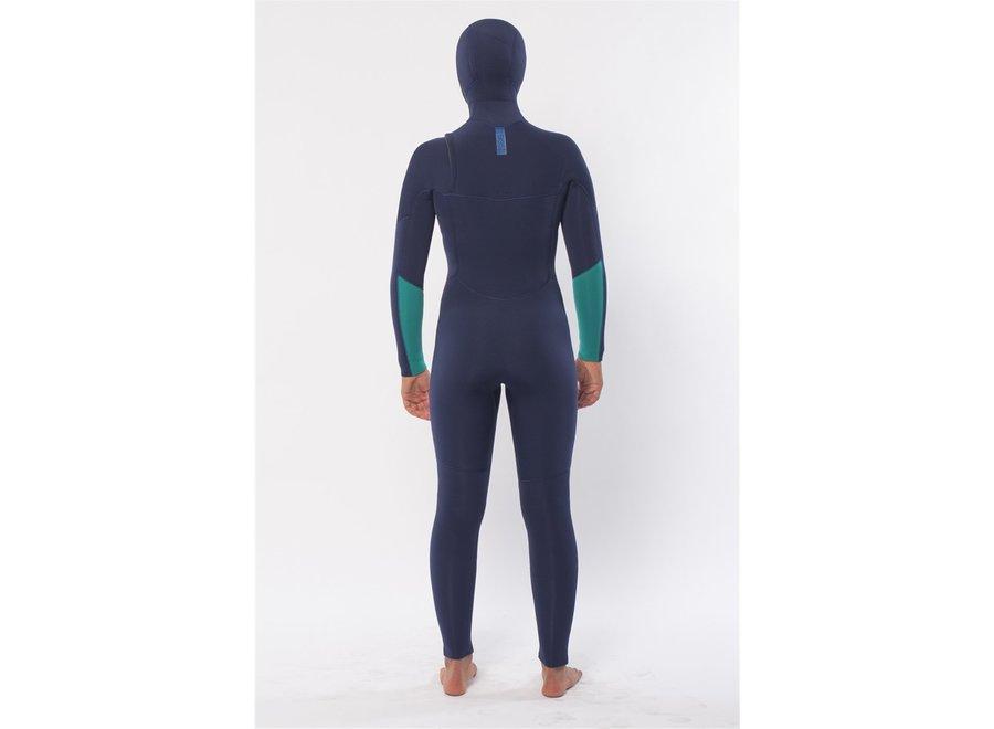 Sisstrevolution 7 Seas 5/4 Women's Wetsuit Hooded Strong Blue