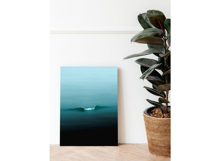 Jop Hermans Turquoise Poster