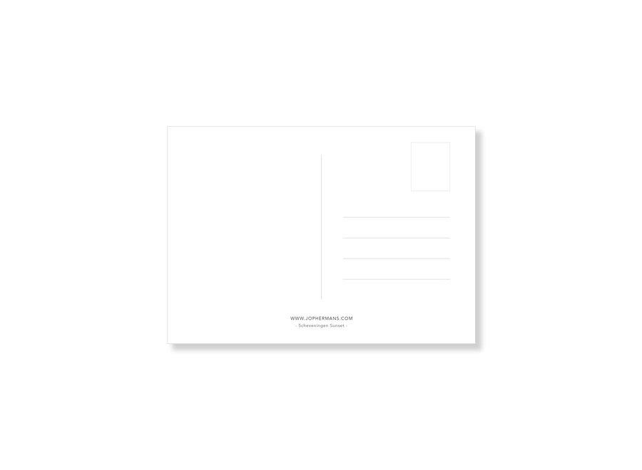 Jop Hermans Scheveningen Sunset Postcard