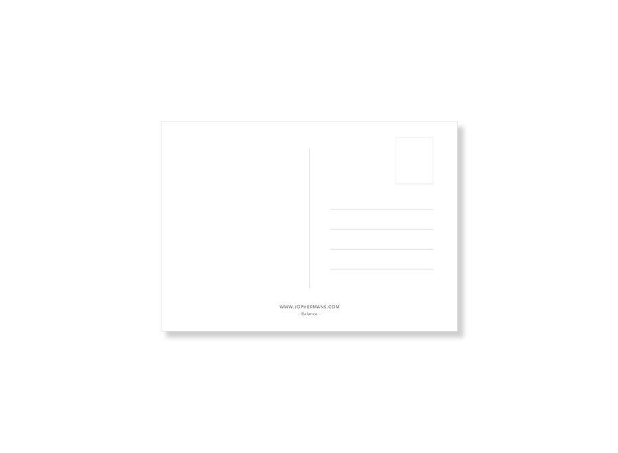 Jop Hermans Balance Postcard