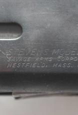 DEACTIVATED STEVENS MODEL 77F PUMP ACTION SHOTGUN UK/EU SPEC