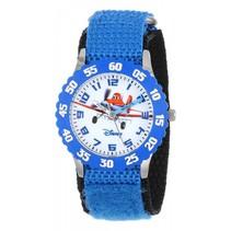 Planes Fire & Rescue - Roestvrij stalen horloge met blauwe nylon band