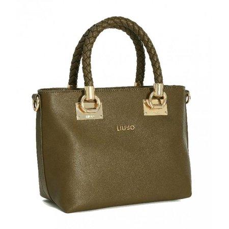 Liu Jo Shopping bag Small Anna pale brown N67102 E0003