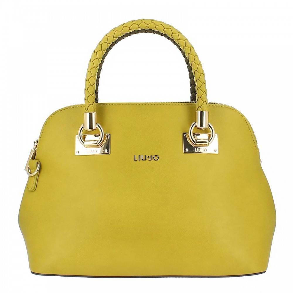 Liu Jo Handtas M2 Scompa bicolor bruin-geel N67083 E0003