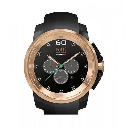 Tutti Milano Masso Chronograaf Horloge zwart TM500 NO/RO