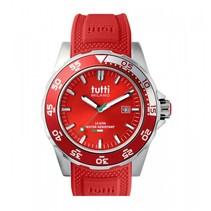 Corallo Horloge rood