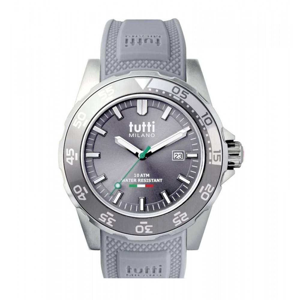 Tutti Milano Corallo Horloge grijs TM900 GY